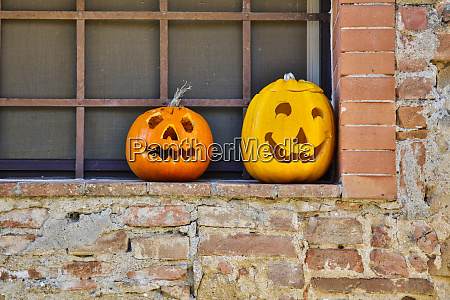 italy pienza ready for halloween