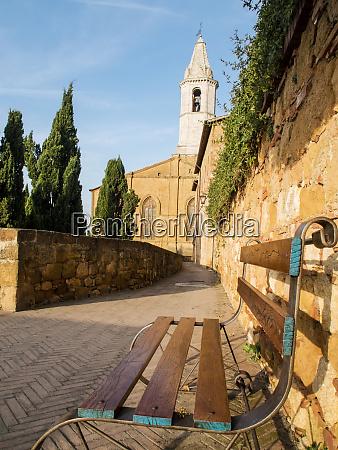 europe italy tuscany pienza the bell