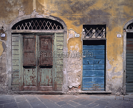 europe italy lucca these old doors