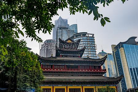arhat temple louhan temple chongqing china