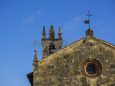 italy chianti monteriggioni chiesa di santa