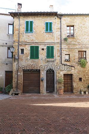 architecture pienza unesco world heritage site