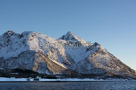 near svolvaer lofoten islands norway