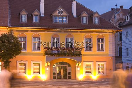 old town sibiu european capital of