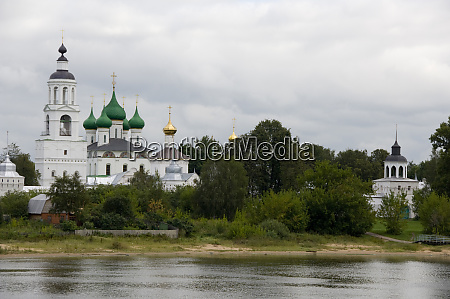 russia yaroslavl golden ring city on
