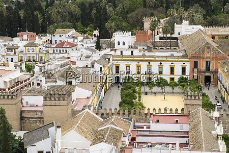 spain andalusia seville views from above