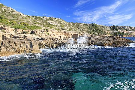 spain balearic islands mallorca cala blava