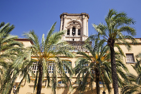 spain granada the bell tower of