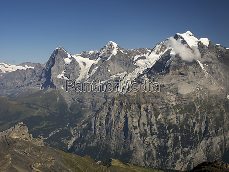 switzerland bern canton schilthorn panorama terrace