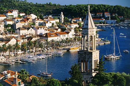 hvar town hvar island croatia
