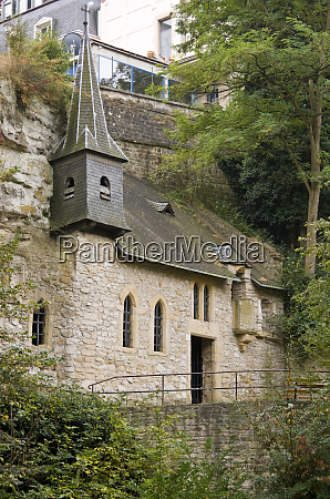luxembourg luxembourg city historic chapel