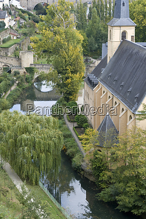 luxembourg luxembourg city grund neighborhood