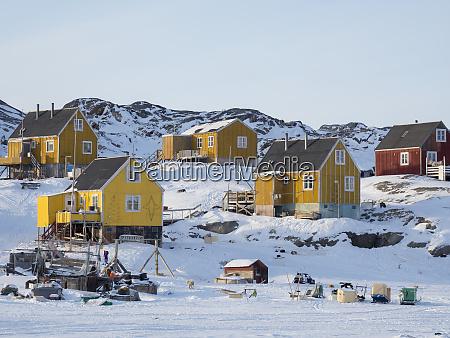 ikerasak fishing village in the uummannaq