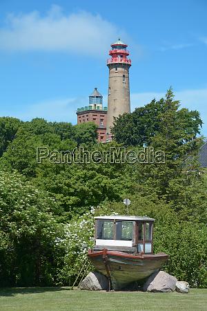lighthouse at kap arkona on ruegen