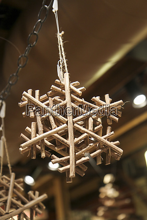 snowflake ornament at the vermont country