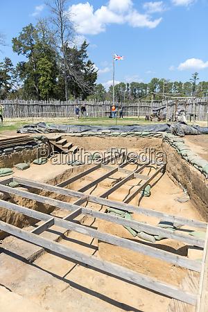 usa virginia jamestown jamestown rediscovery archaeological