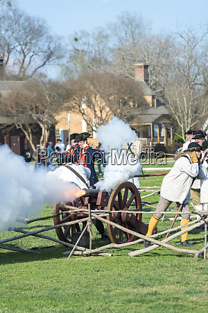 usa virginia williamsburg colonial williamsburg firing