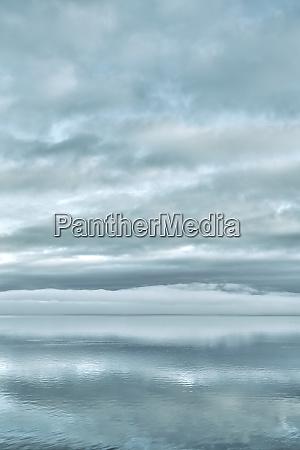 usa washington state seabeck sunrise mirrored
