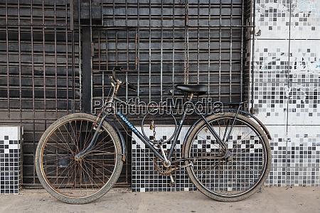 south america brazil belem bicycle resting