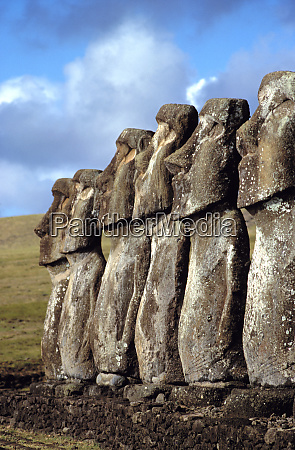 south america chile easter island profiles