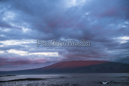 scenic view isabela island galapagos islands