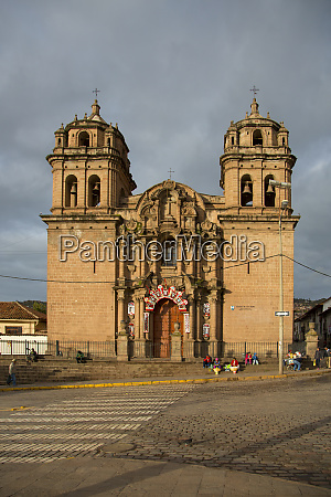 san pedro church 1699 cusco urubamba