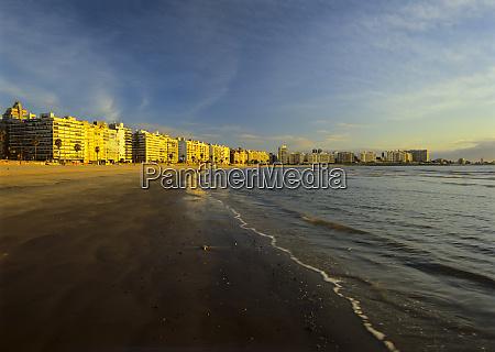 south america uruguay montevideo beachfront makes