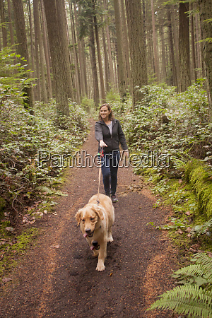 usa washington state kirkland woman walking