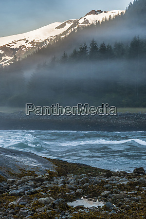 usa alaska tongass national forest tide