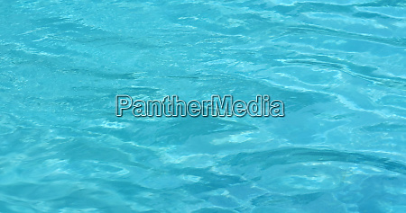 swimming pool water wave in blue