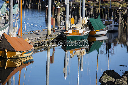 port townsend washington state green wooden