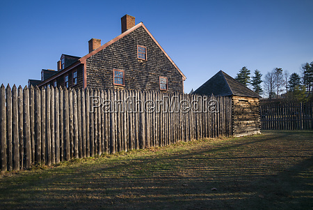 usa maine augusta old fort western