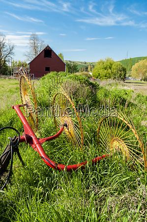 usa washington dayton barn and hay