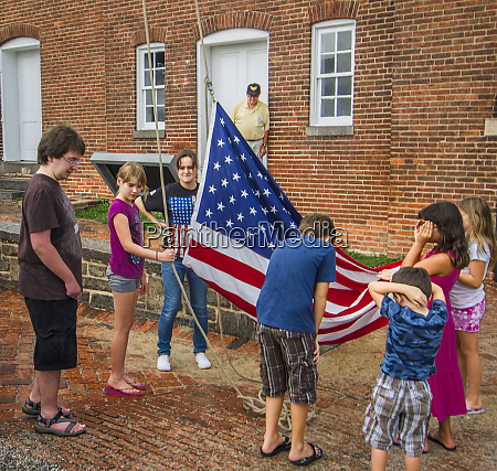historic fort mchenry birthplace of the