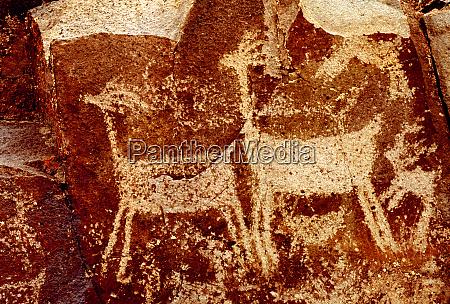usa california little petroglyph canyon ridgecrest