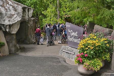 usa oregon portland entrance to oregon