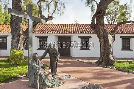 usa california san diego religious statues