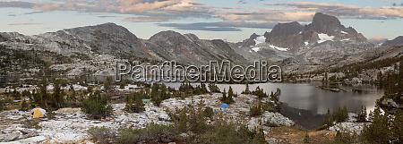 usa california inyo national forest panoramic
