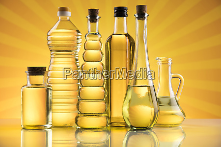 rapeseed oil sunflower oil olive oil