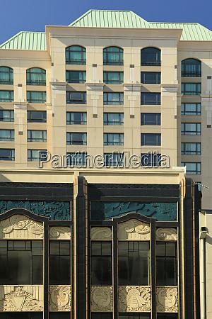usa oregon portland art deco building