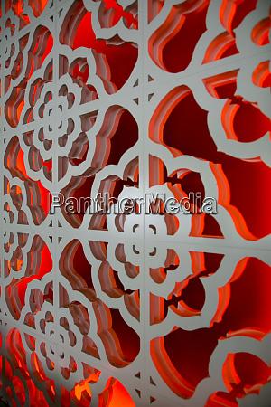 wall pattern palm springs california usa