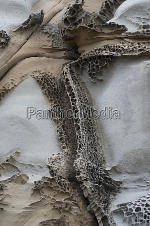usa california abstract tafoni formation detail