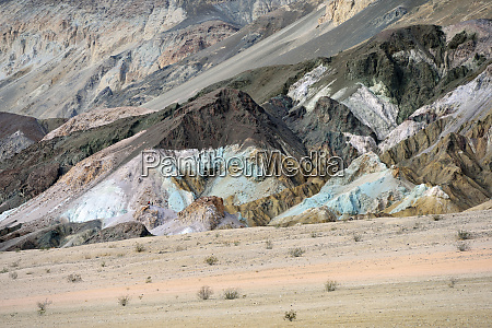 usa california death valley abstract hill