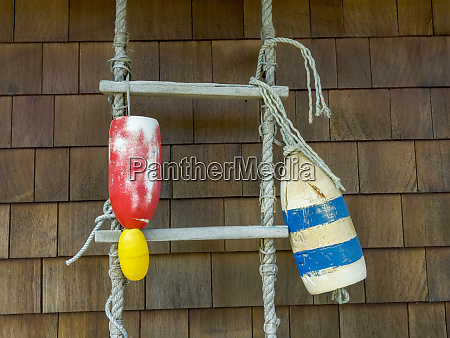 usa oregon cannon beach two buoys