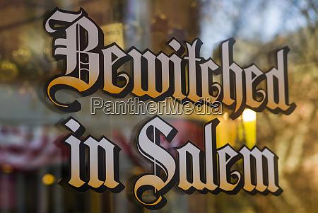 usa massachusetts salem bewitched in salem