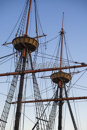 usa massachusetts plymouth replica of the
