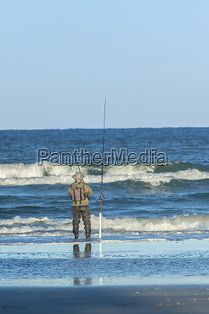 usa florida new smyrna beach fisherman