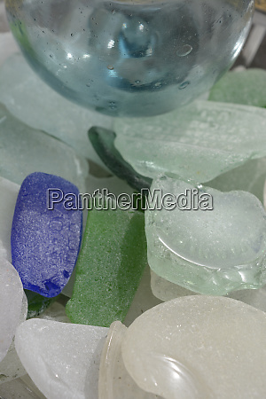 usa alaska ketchikan beach glass