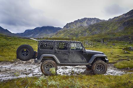 usa alaska hatchers pass 4x4 jeep