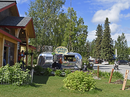 usa alaska talkeetna shops in town